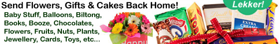 Send Flowers, Gifts, Cakes, Books, Booze, Cards Back Home