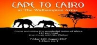 Expat Event: Cape to Cairo at the Walhampton Arms, UK