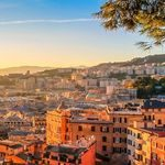 Fly to Genoa: famed for its involvement in the maritime trade over many centuries
