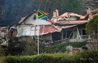 South African expat from UK raises R300 000 to assist victims of Knysna Fire