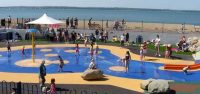 Summer Saffa Moms get together at Gosport Splash Park, UK