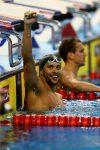 Suid Afrika se goue swem seun Chad le Clos ryg medaljes in tydens Wêreldbeker-byeenkoms