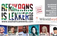 Afrikaans is Lekker 2018 konsert gehou in Australië en Nieu-Seeland