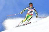 Ski atleet Connor Wilson van SA op pad na Winterspele