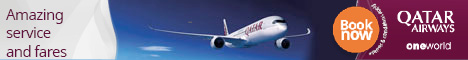 Fly with Qatar Airways