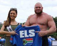 Sterkman Johan Els is as die wêreld se sesde sterkste man aangewys