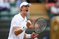 Tennis speler Kevin Anderson deur na Wimbledon-kwarteind