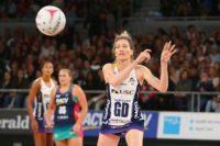 Netbal speelster Karla Pretorius lewer puik vertoning op Brisbane baan
