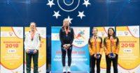 Alexa Pienaar ontvang silwermedalje by Wêreld-universiteite se muurbalkampioenskap
